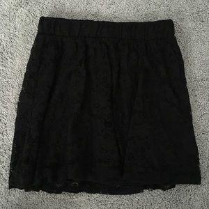 Forever 21 Skirts - Forever 21 Black Lace Skirt